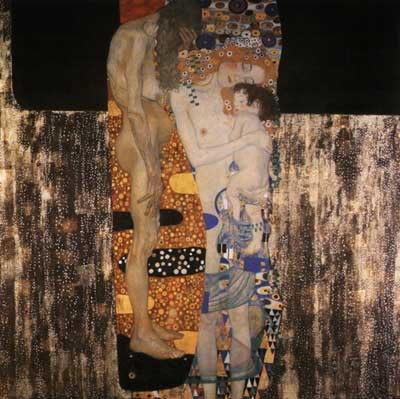 The Three Ages of Woman, Klimt