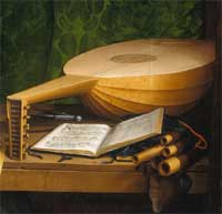 Lute and Lutheran text
