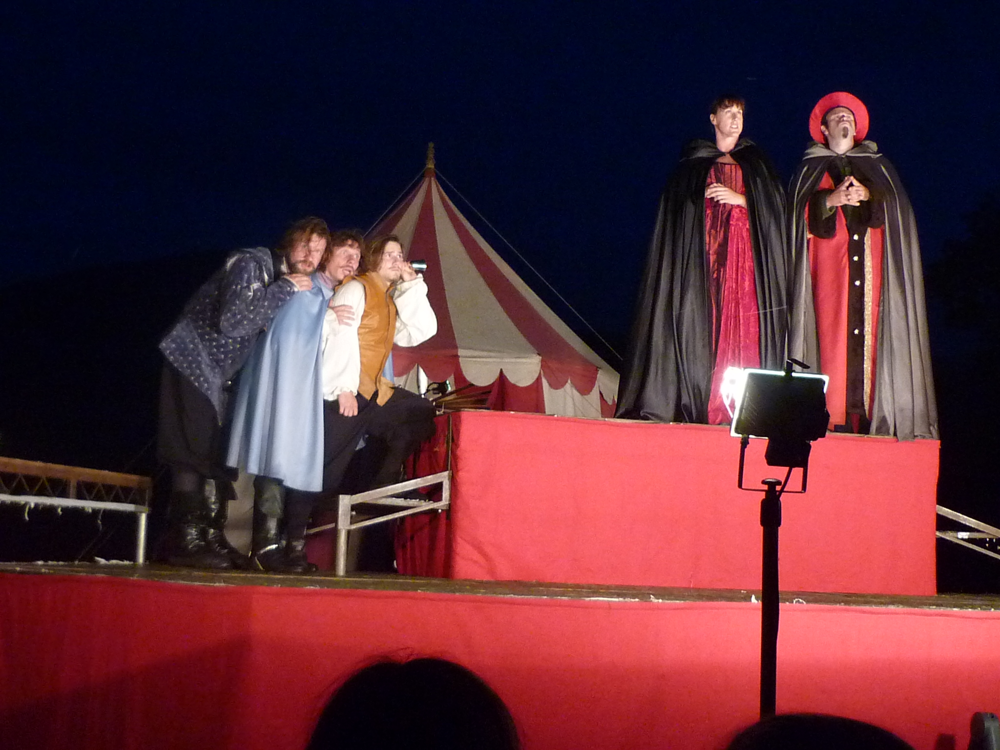 Illyria and the Three Musketeers – Huzzah!