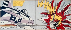 Whaam! 1963 by Roy Lichtenstein 1923-1997