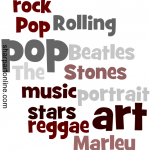 Pop Art Portraits - Music