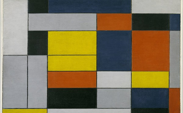 Piet Mondrian No VI Composition No II