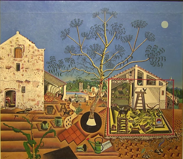 The Farm by Joan Miro