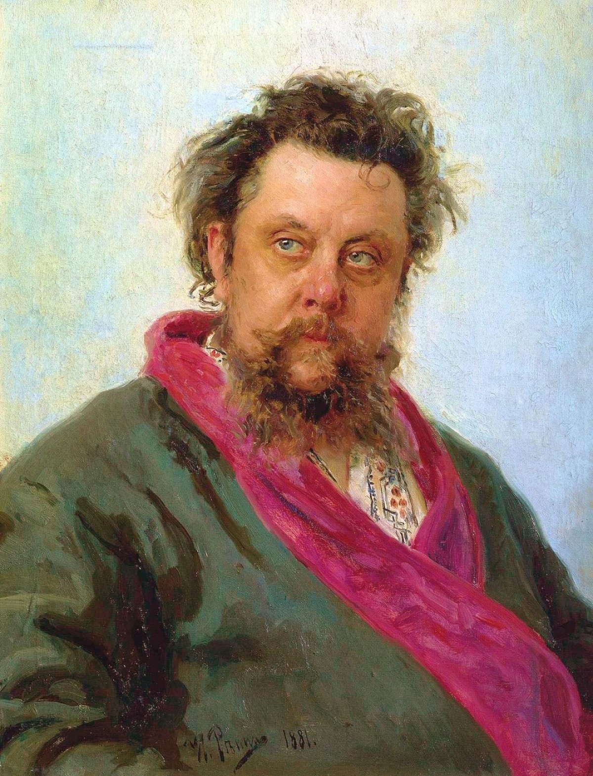 modest mussorgsky - part of art swap