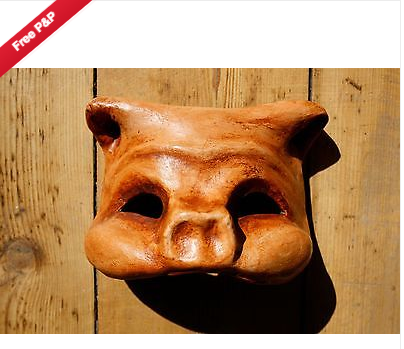 Commedia-dellart-Mask_pig